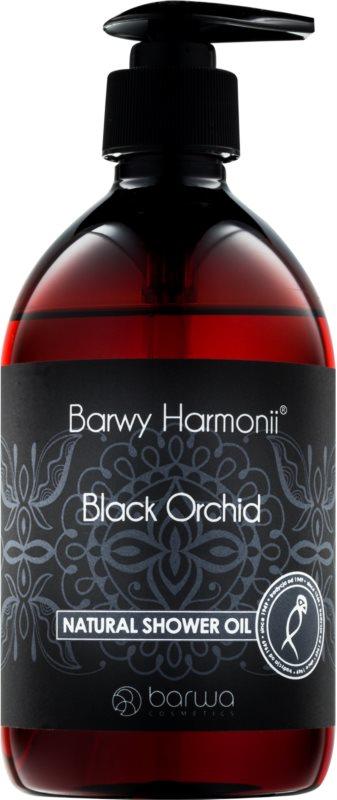 Barwa Harmony Black Orchid prírodný sprchový olej