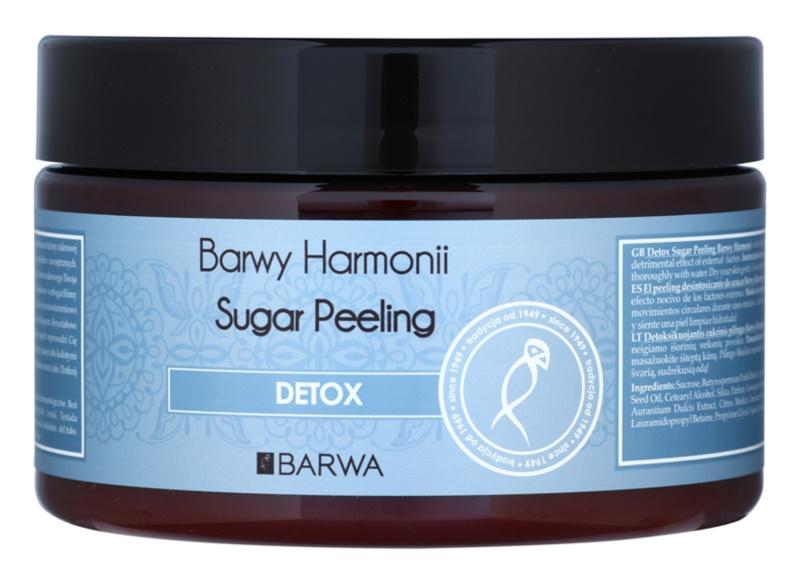 Barwa Harmony Detox esfoliante de açúcar com efeito protetor e de limpeza