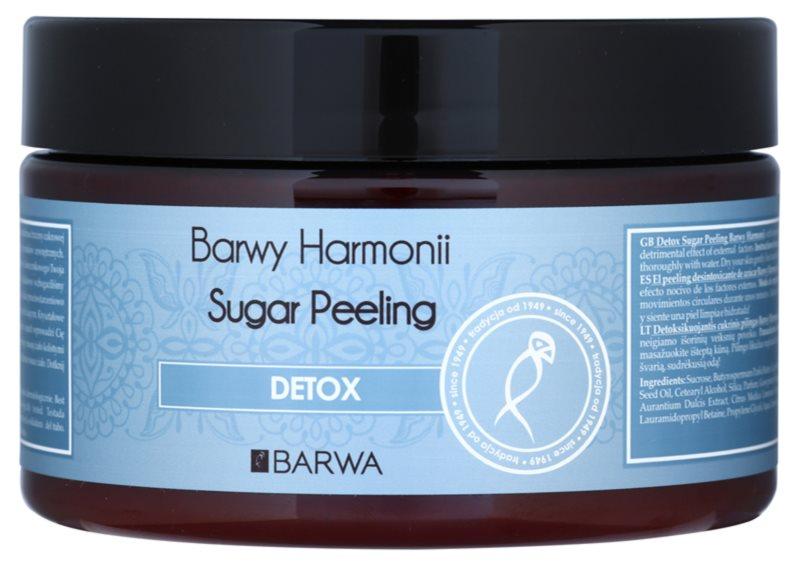Barwa Harmony Detox gommage au sucre effet nettoyant et protecteur