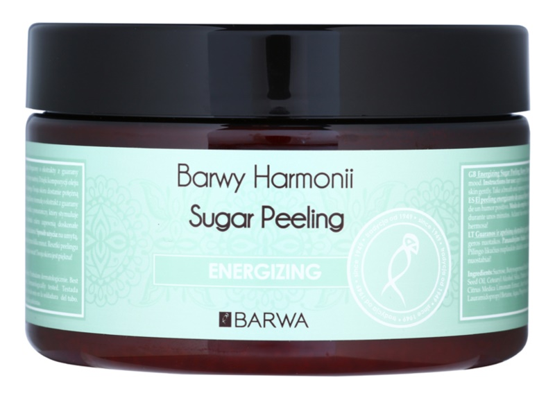 Barwa Harmony Energizing gommage au sucre effet régénérant