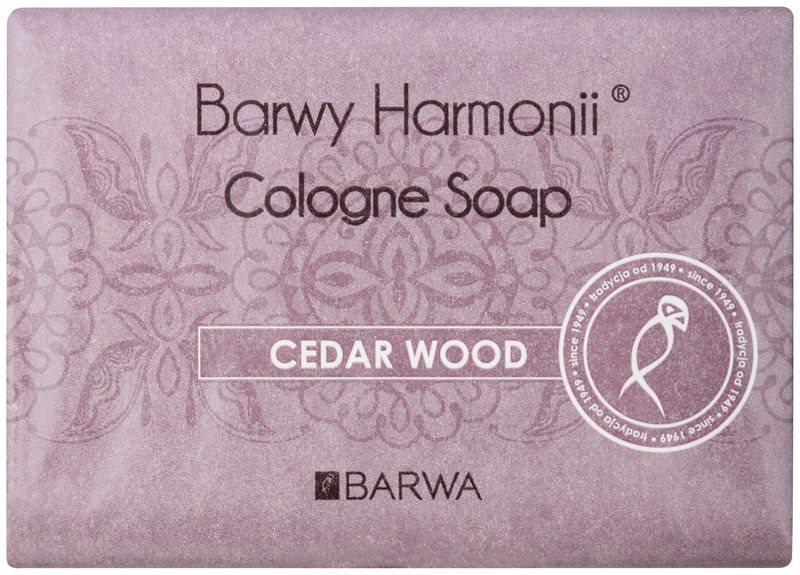 Barwa Harmony Cedar Wood sapun solid cu efect de hidratare