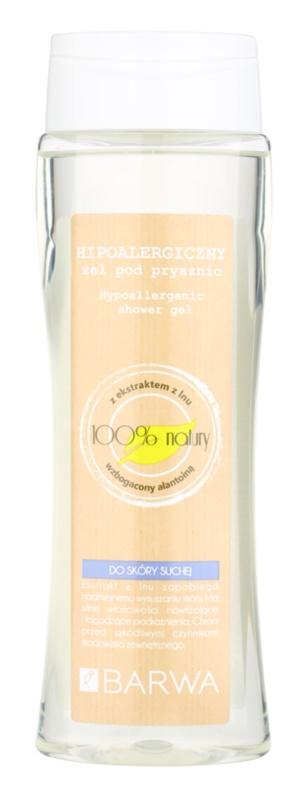 Barwa Natural Hypoallergenic tusfürdő gél száraz bőrre