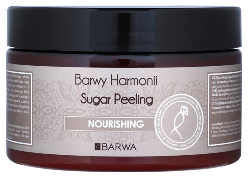 Barwa Harmony Nourishing Zuckerpeeling zum Nähren und für die sanfte Reinigung der Haut