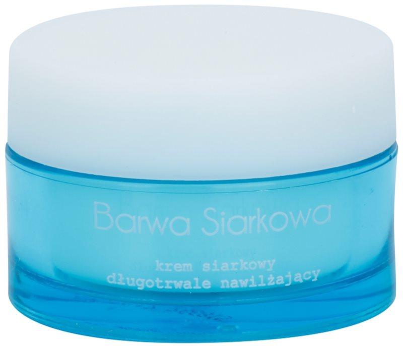 Barwa Sulphur crema hidratanta cu efect indelungat pentru tenul gras, predispus la acnee