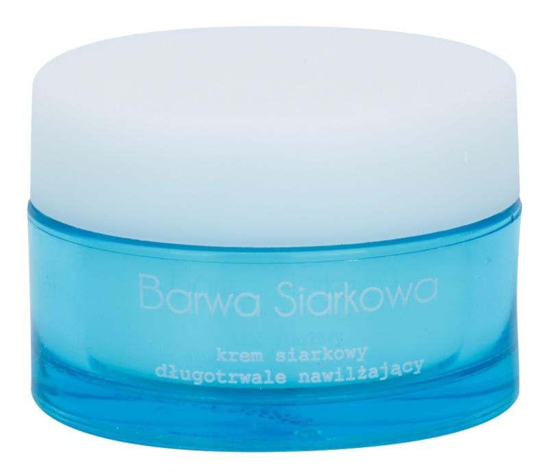 Barwa Sulphur krém s dlhotrvajúcim hydratačným účinkom pre mastnú pleť so sklonom k akné
