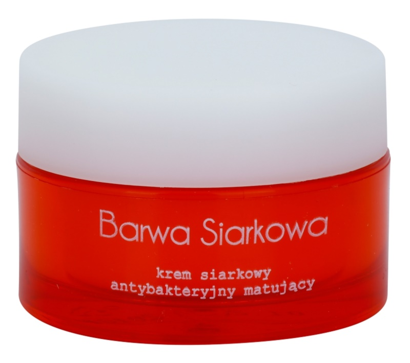 Barwa Sulphur Mattifying Cream For Oily And Problematic Skin