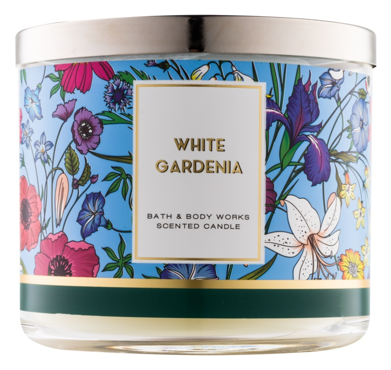 Bath & Body Works White Gardenia candela profumata 411 g