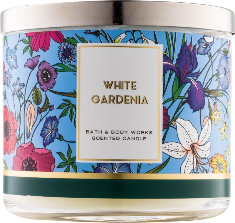 Bath & Body Works White Gardenia Duftkerze  411 g