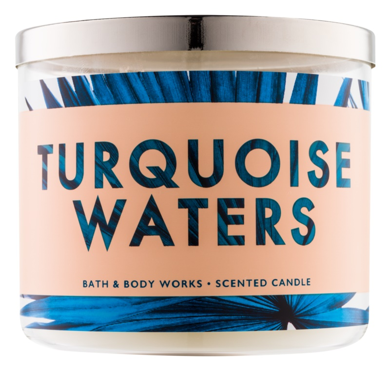 Bath & Body Works Turquoise Waters Geurkaars 411 gr
