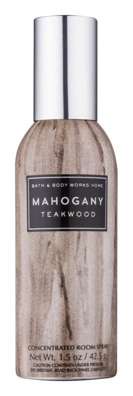 Bath & Body Works Mahogany Teakwood spray para o lar 42,5 g