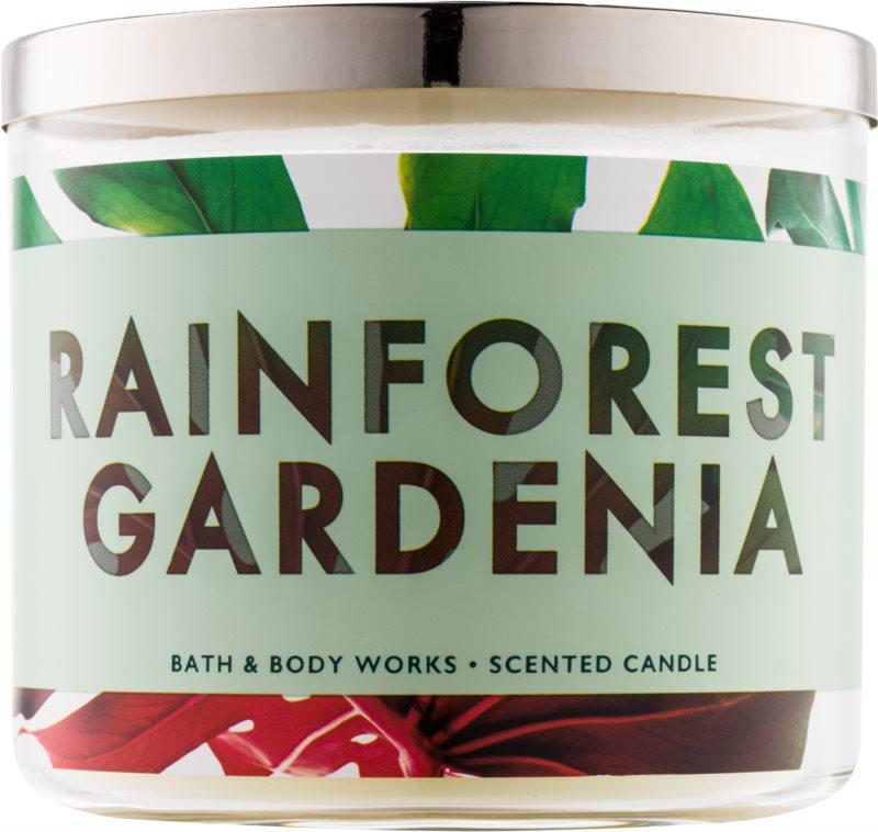 Bath & Body Works Rainforest Gardenia candela profumata 411 g