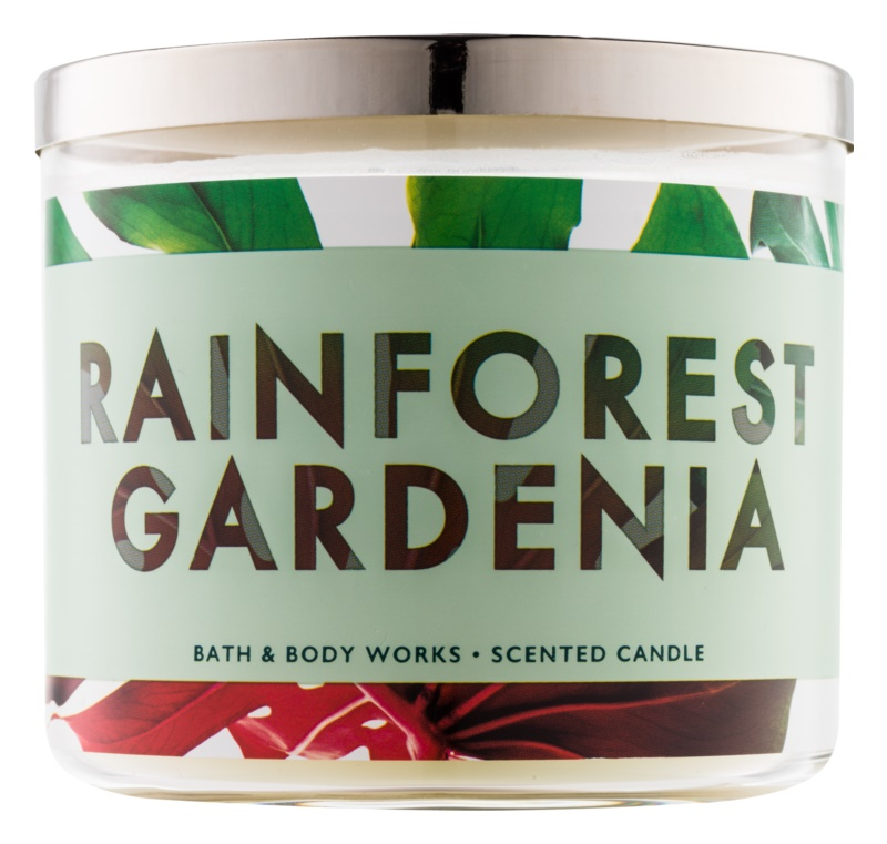 Bath & Body Works Rainforest Gardenia Scented Candle 411 g