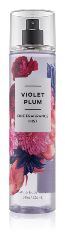 Bath & Body Works Violet Plum Bodyspray  voor Vrouwen  236 ml