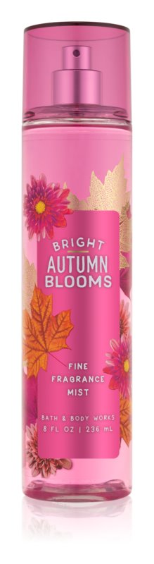 Bath & Body Works Bright Autumn Blooms Bodyspray  voor Vrouwen  236 ml