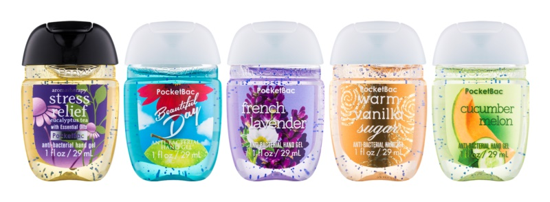 Bath & Body Works PocketBac Combo of 5 Cosmetic Set VIII.