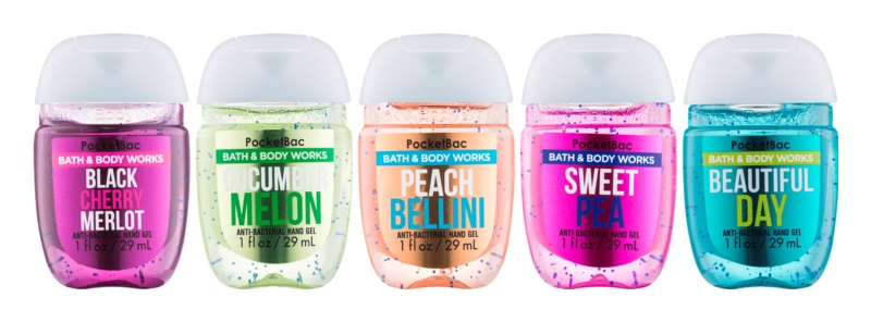 Bath & Body Works PocketBac Combo of 5 coffret cosmétique VII.