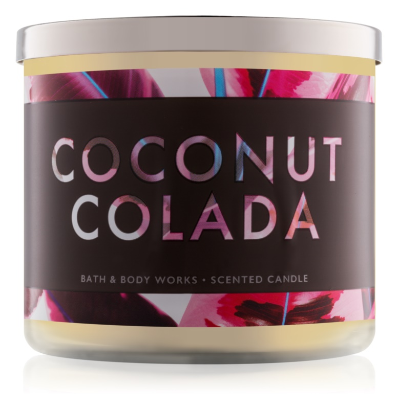 Bath & Body Works Coconut Colada candela profumata 411 g