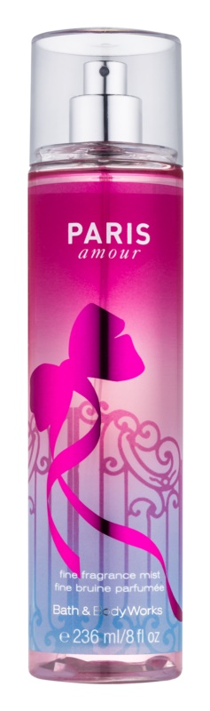 Bath & Body Works Paris Amour Körperspray für Damen 236 ml