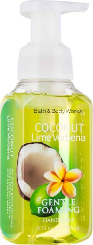 Bath & Body Works Coconut Lime Verbena savon moussant pour les mains