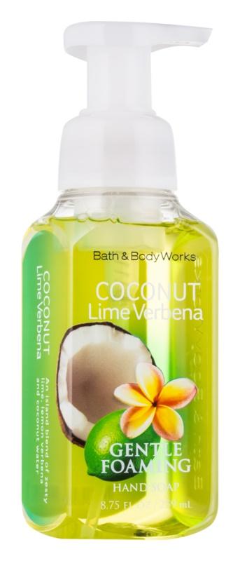 Bath & Body Works Coconut Lime Verbena schiuma detergente mani