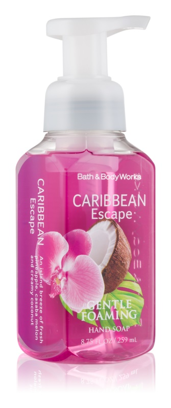 Bath & Body Works Caribbean Escape Sapun spuma pentru maini