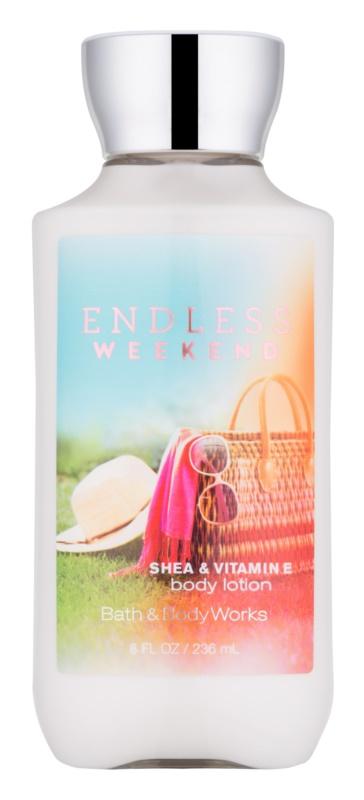 Bath & Body Works Endless Weekend telové mlieko pre ženy 236 ml