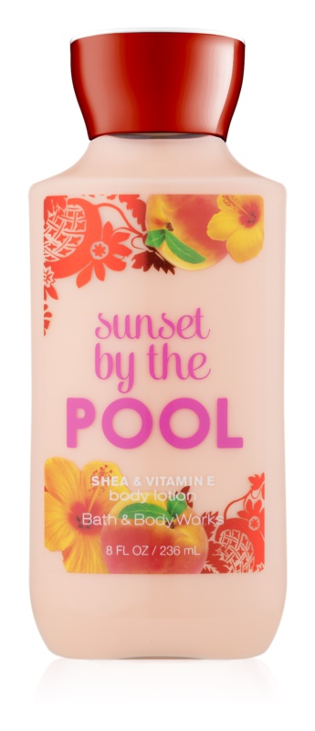 Bath & Body Works Sunset by the Pool telové mlieko pre ženy 236 ml