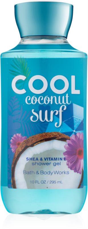 Bath & Body Works Cool Coconut Surf Duschgel für Damen 295 ml