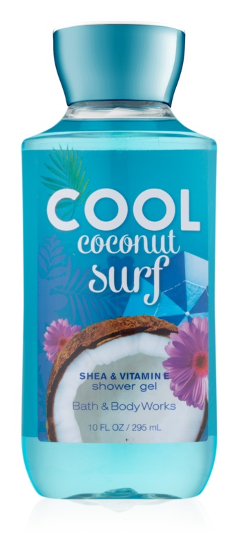 Bath & Body Works Cool Coconut Surf gel doccia per donna 295 ml
