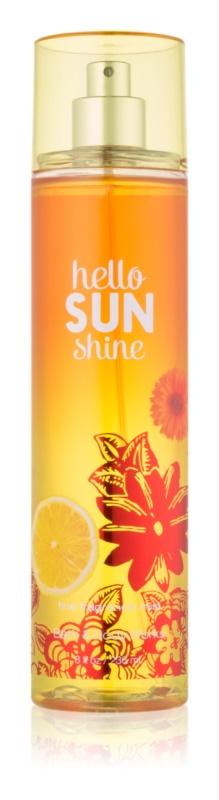 Bath & Body Works Hello Sunshine Bodyspray  voor Vrouwen  236 ml