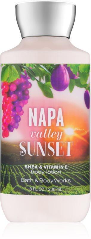 Bath & Body Works Napa Valley Sunset Bodylotion  voor Vrouwen  236 ml