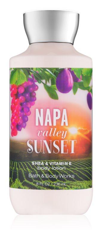 Bath & Body Works Napa Valley Sunset Körperlotion für Damen 236 ml