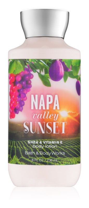 Bath & Body Works Napa Valley Sunset leite corporal para mulheres 236 ml