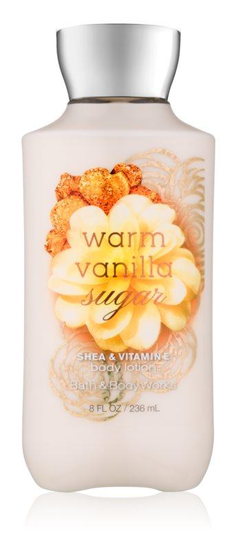 Bath & Body Works Warm Vanilla Sugar latte corpo per donna 236 ml