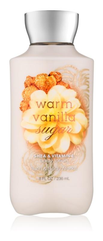 Bath & Body Works Warm Vanilla Sugar mleczko do ciała dla kobiet 236 ml