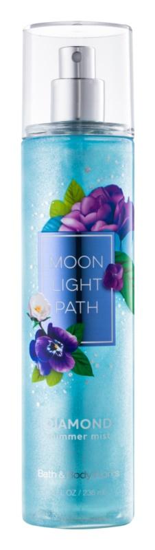 Bath & Body Works Moonlight Path telový sprej pre ženy 236 ml trblietavý