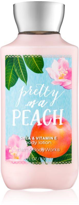 Bath & Body Works Pretty as a Peach testápoló tej nőknek 236 ml