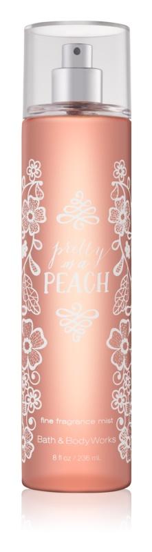 Bath & Body Works Pretty as a Peach tělový sprej pro ženy 236 ml