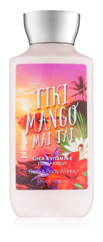 Bath & Body Works Tiki Mango Mai Tai telové mlieko pre ženy 236 ml