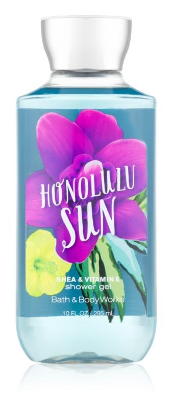 Bath & Body Works Honolulu Sun Douchegel voor Vrouwen  295 ml