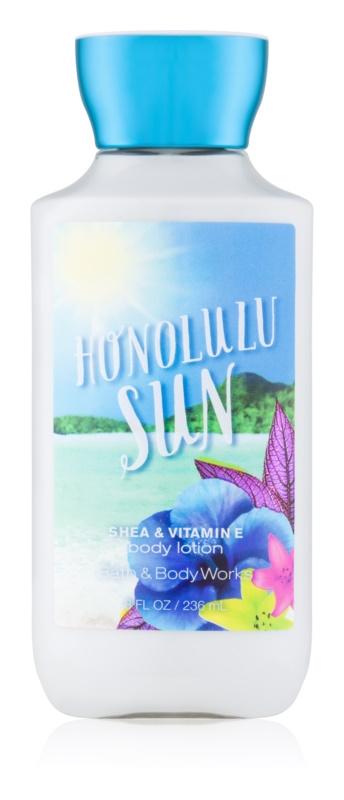 Bath & Body Works Honolulu Sun leche corporal para mujer 236 ml