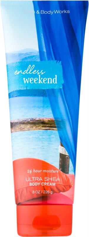 Bath & Body Works Endless Weekend Κρέμα σώματος για γυναίκες 226 γρ