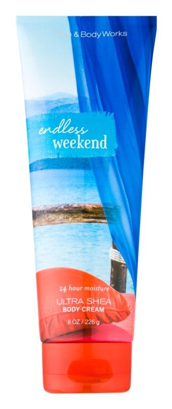 Bath & Body Works Endless Weekend tělový krém pro ženy 226 g