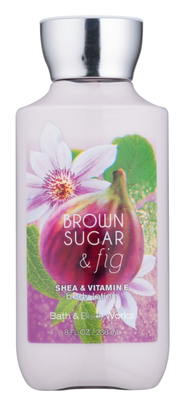 Bath & Body Works Brown Sugar and Fig tělové mléko pro ženy 236 ml