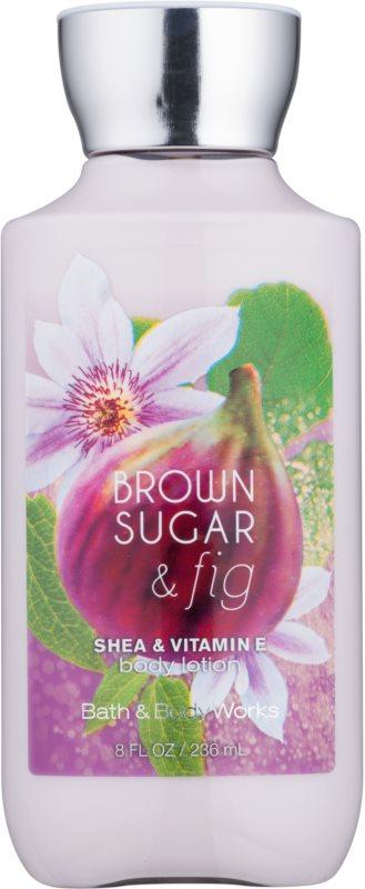 Bath & Body Works Brown Sugar and Fig tělové mléko pro ženy 236 ml
