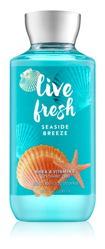 Bath & Body Works Live Fresh Seaside Breeze sprchový gél pre ženy 295 ml