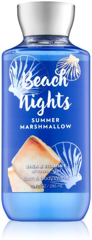 Bath & Body Works Beach Nights Summer Marshmallow gel de dus pentru femei 295 ml