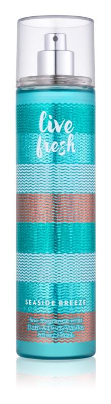 Bath & Body Works Live Fresh Seaside Breeze Body Spray for Women 236 ml