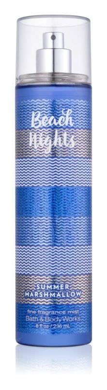 Bath & Body Works Beach Nights Summer Marshmallow spray pentru corp pentru femei 236 ml