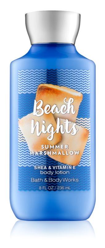 Bath & Body Works Beach Nights Summer Marshmallow lapte de corp pentru femei 236 ml